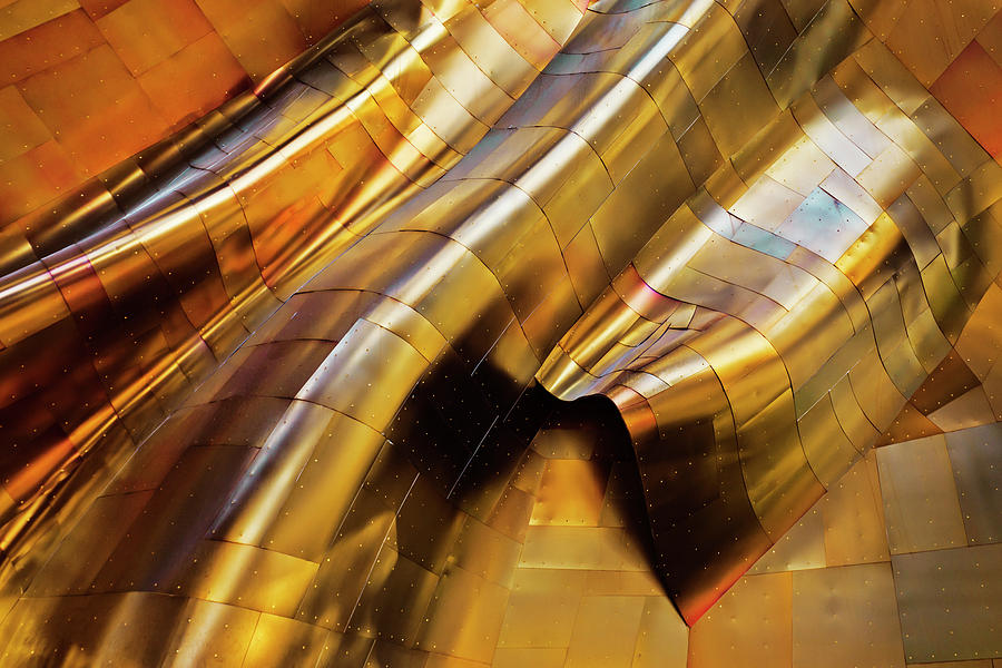 Abstract Photograph - Abstract Steel by S. Amer