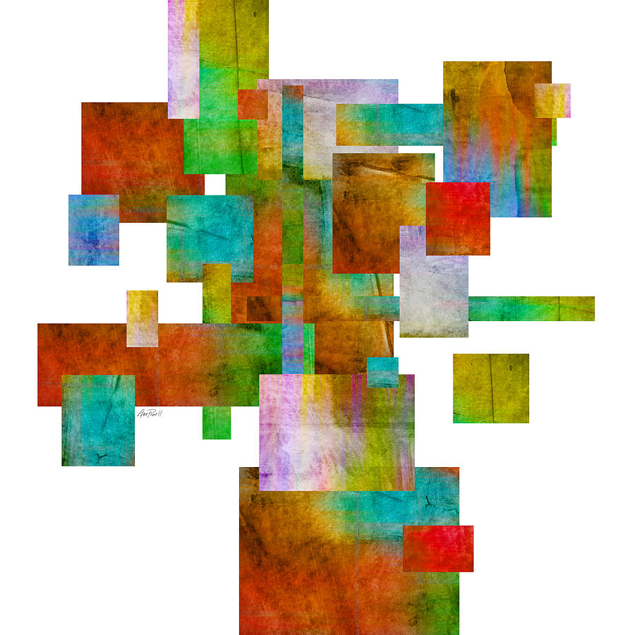 Abstract Painting - Abstract Study 22 Abstract- Art by Ann Powell