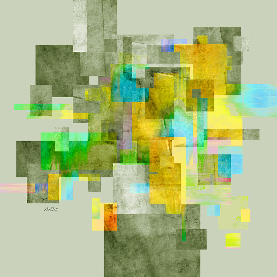 Abstract Painting - Abstract Study 27 by Ann Powell