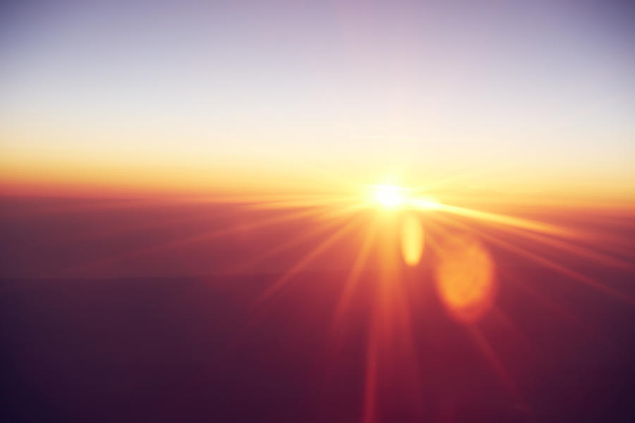 Abstract sunrise Photograph by Ezra Bailey