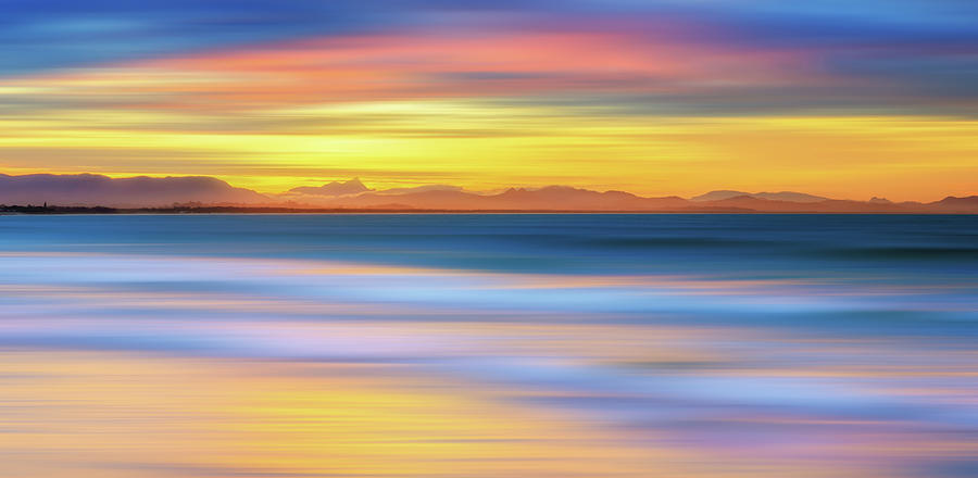 Abstract Sunset Photograph by Andriislonchak