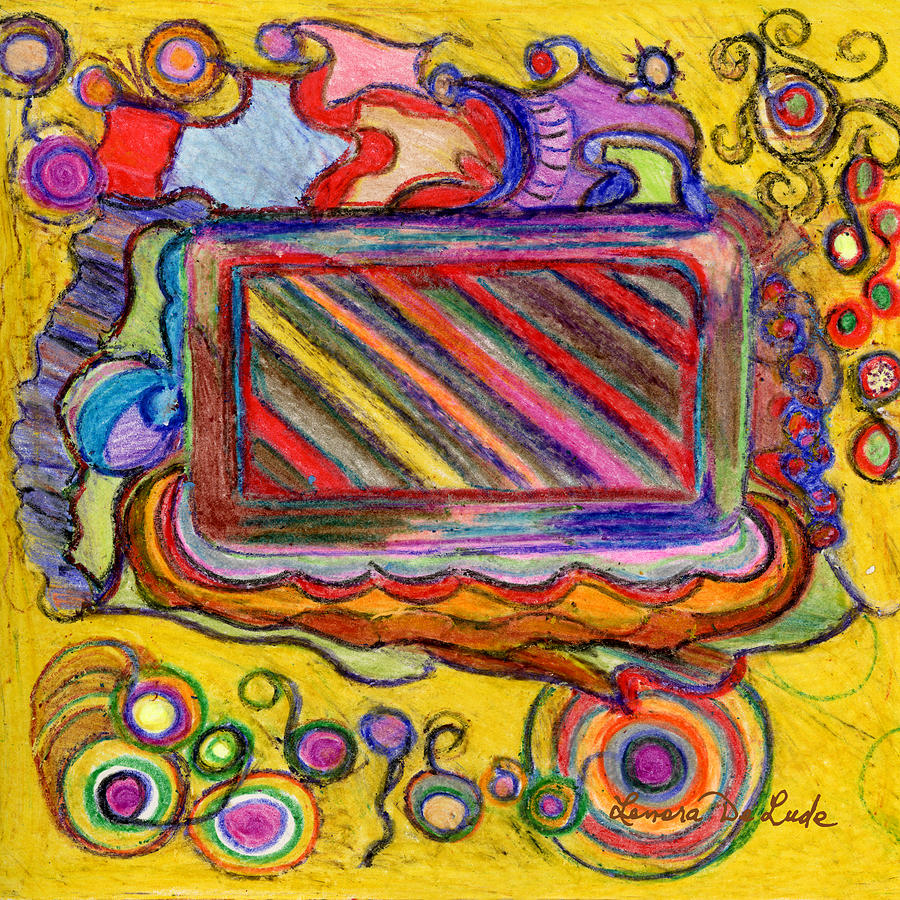 Abstract Television And Shapes