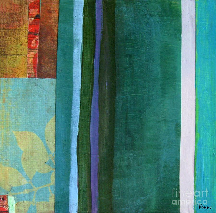 Abstract Collage Painting - Abstract by Venus