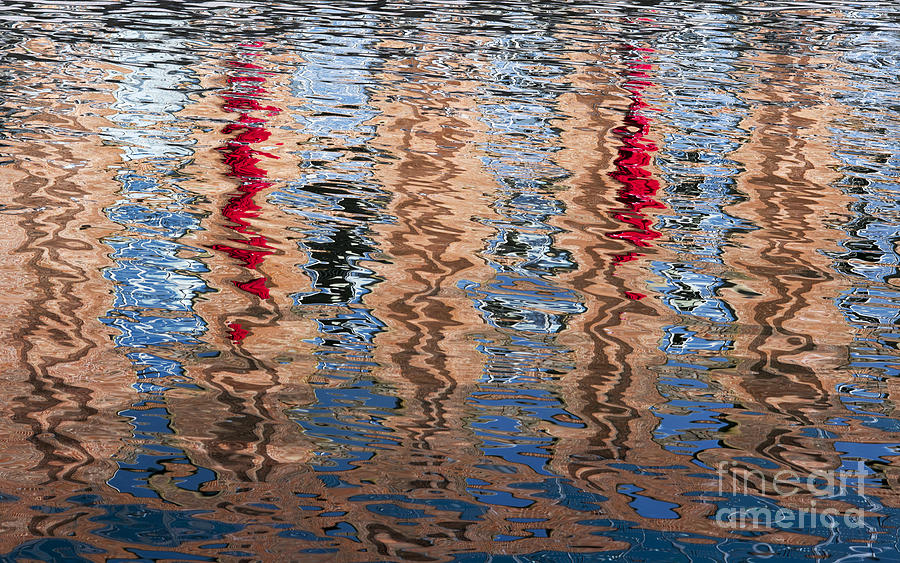 Abstract Photograph - Abstract Water Ripples  by Tim Gainey