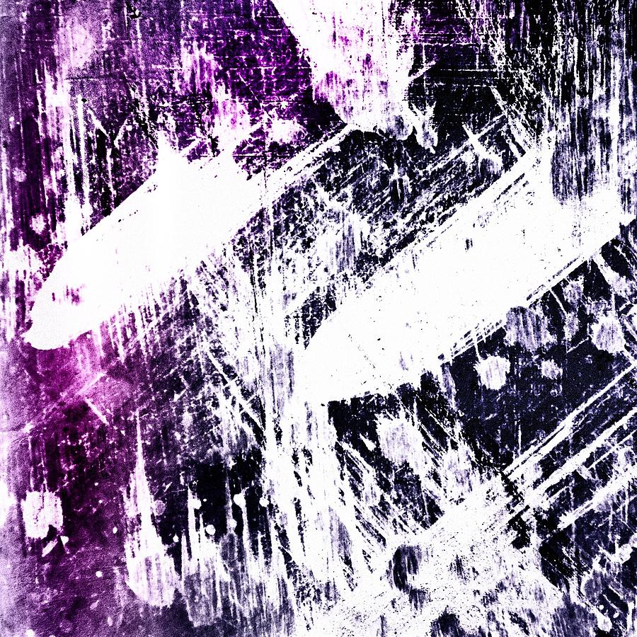 Purple and White Photograph by Jah Love