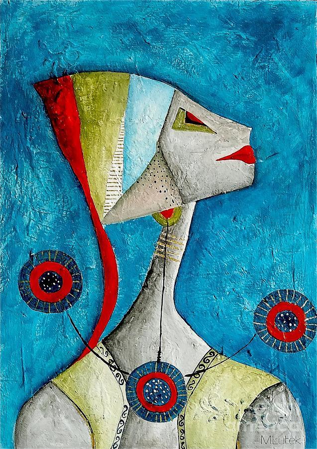 Graphic Painting - Abstraction 698 -marucii by Marek Lutek