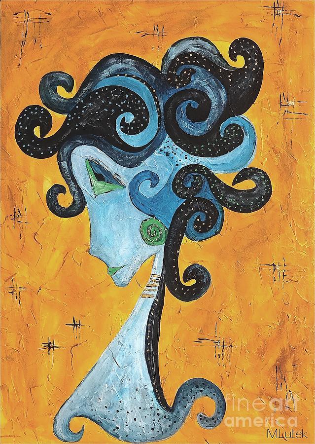 Graphic Painting - Abstraction 699 -marucii by Marek Lutek