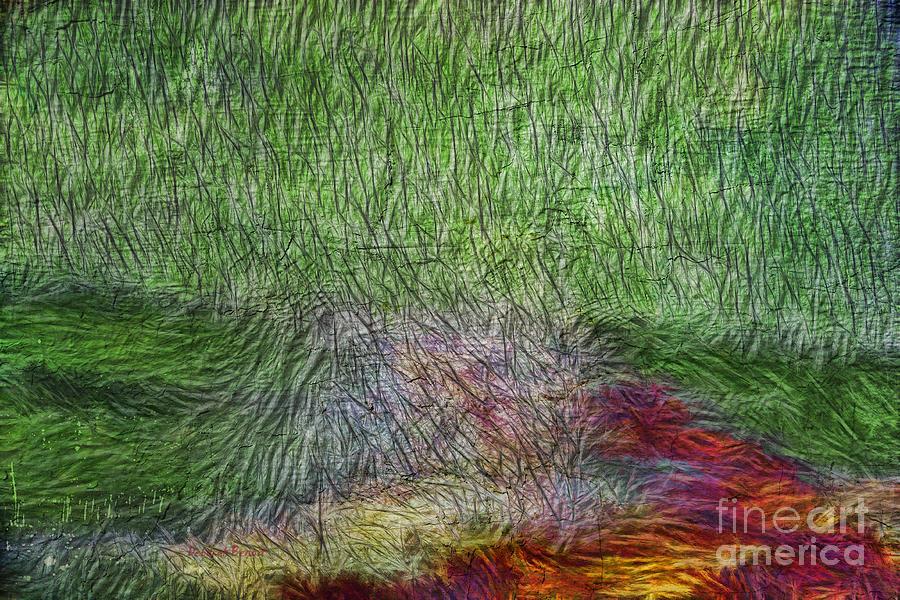 Abstract Digital Art - Abstraction Of Life by Deborah Benoit