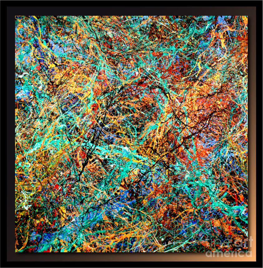 Painting Painting - Abstraction P334 by Tehos