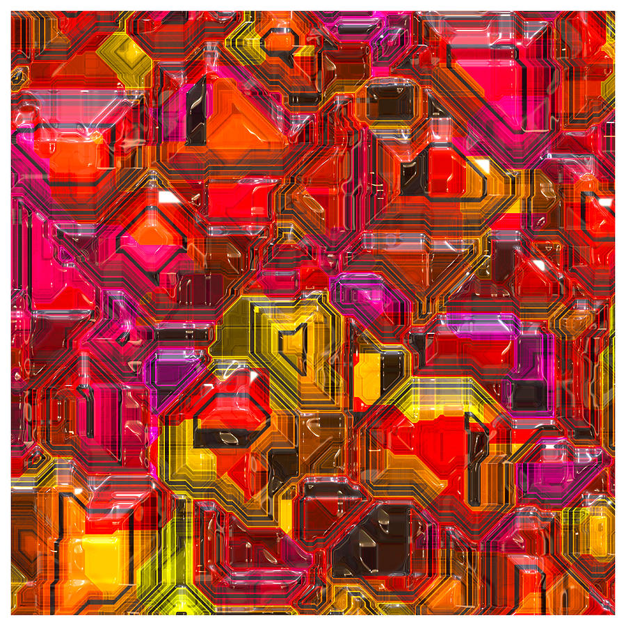 Abstract Digital Art - Abstractions... by Tim Fillingim