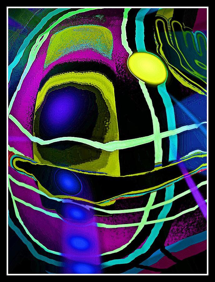 Abstrakt Digital Art - Abstrakte Inspiration by Gertrude Scheffler