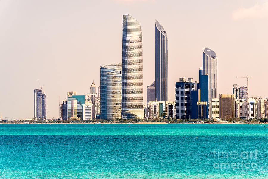 Abu Dhabi Skyline United Arab Emirates Photograph By Luciano Mortula