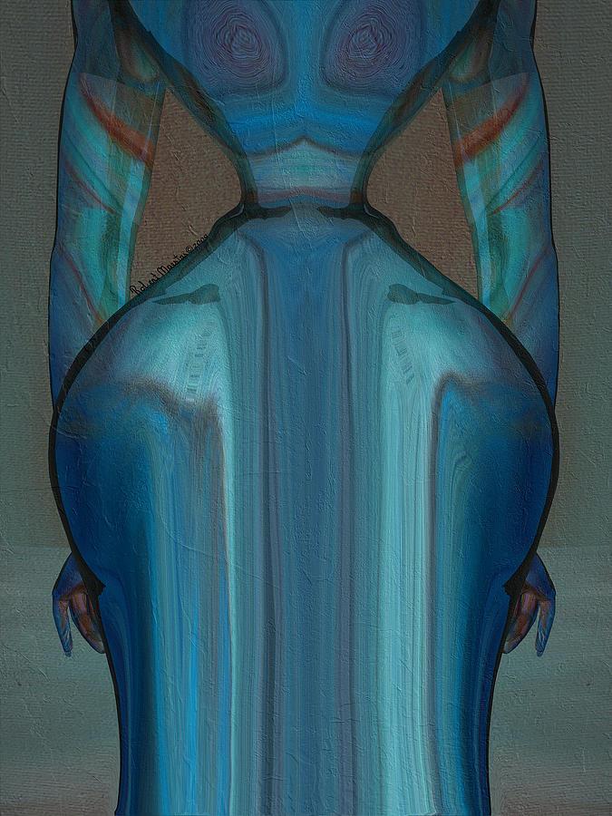 Figurative Painting - Abuela by Robert Maestas