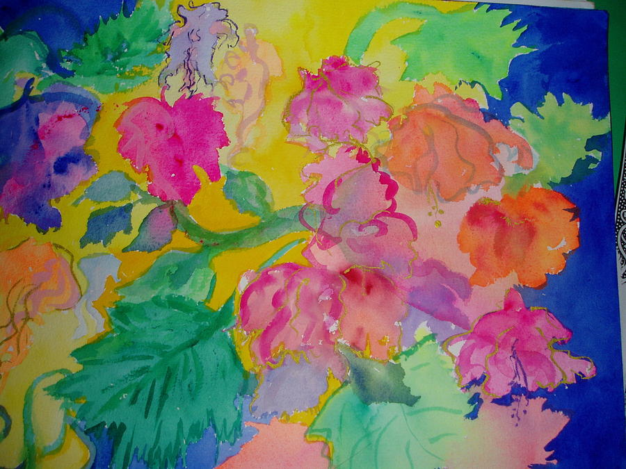 Bright Painting - Fiesta by Phoenix Simpson