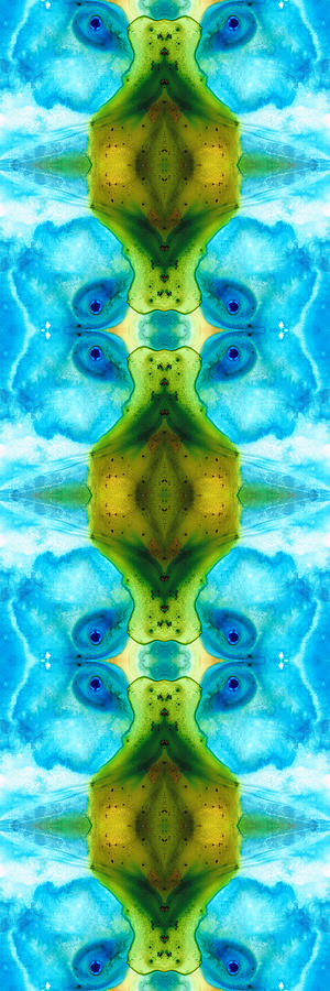 Abstract Painting - Abundant Life - Pattern Art By Sharon Cummings by Sharon Cummings