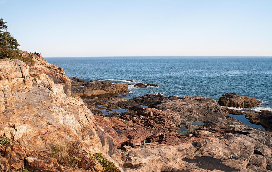 Maine Photograph - Acadia Coast by Kristen Mohr