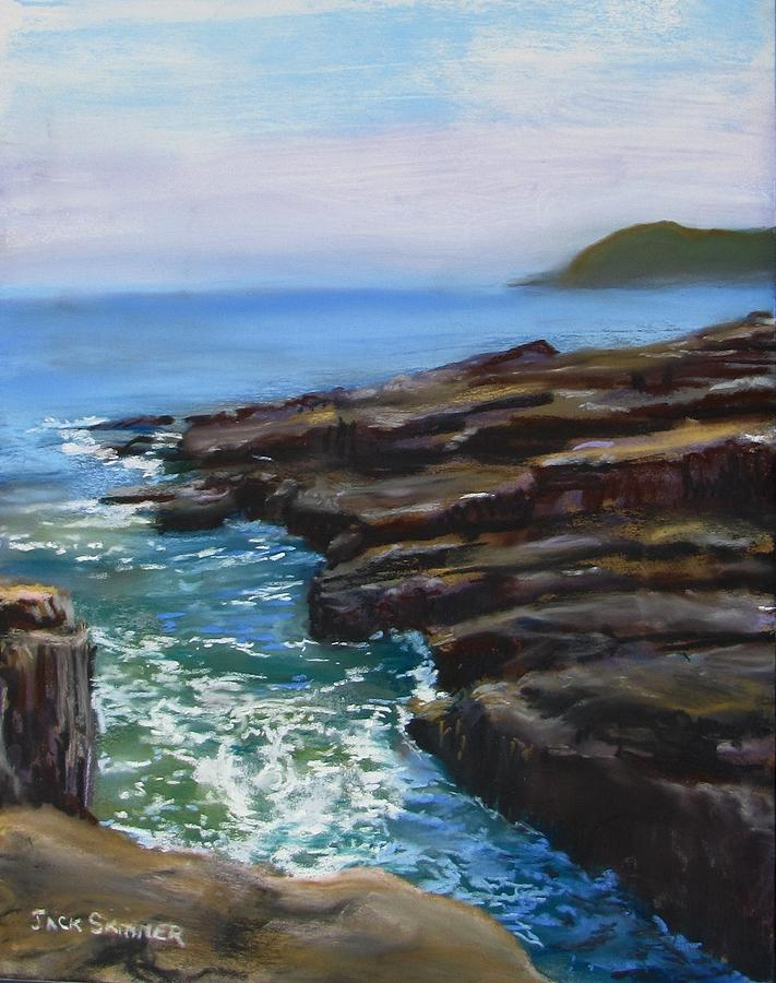 Acadia National Park Painting - Acadia National Park  by Jack Skinner