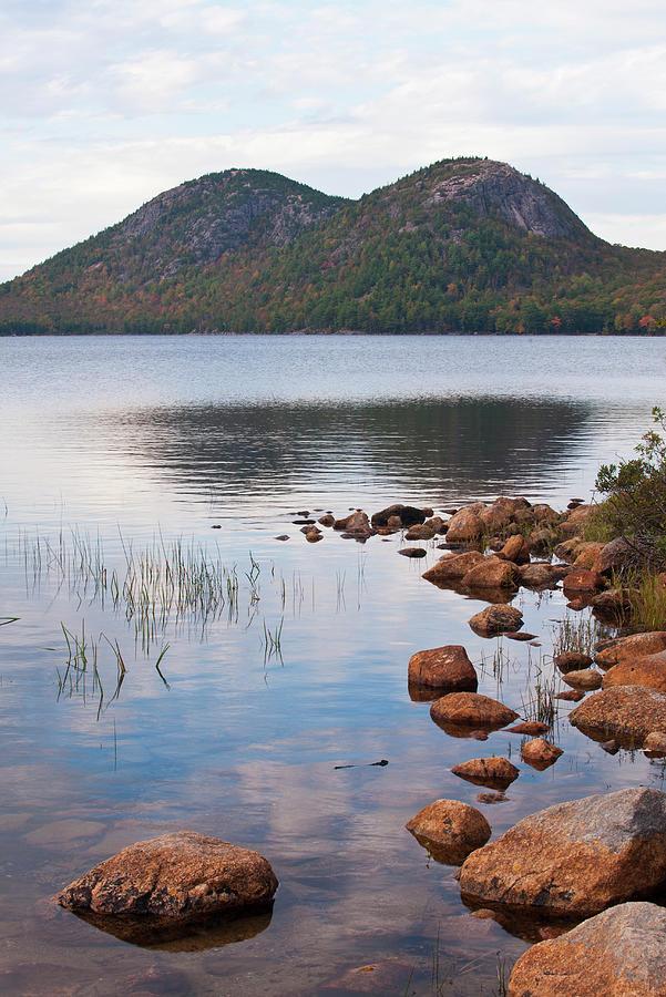 Acadia National Park, Maine--jordan Pond Photograph by Ed Reschke