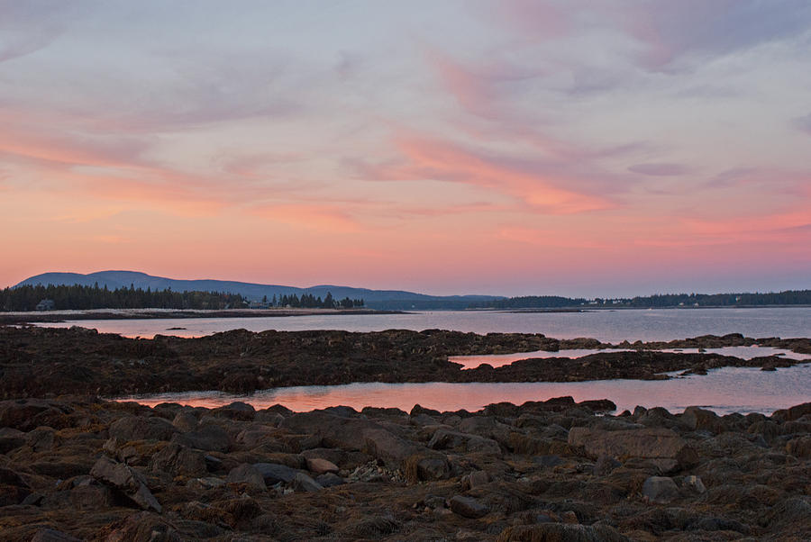 Acadia Sunset by Kristen Mohr