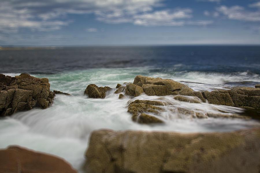 Acadia Photograph - Acadia Surf II by Bob Retnauer