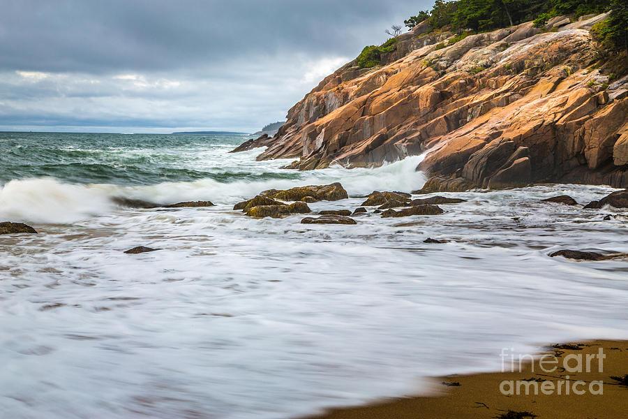 Acadia National Park Photograph - Acadia Surge by Susan Cole Kelly