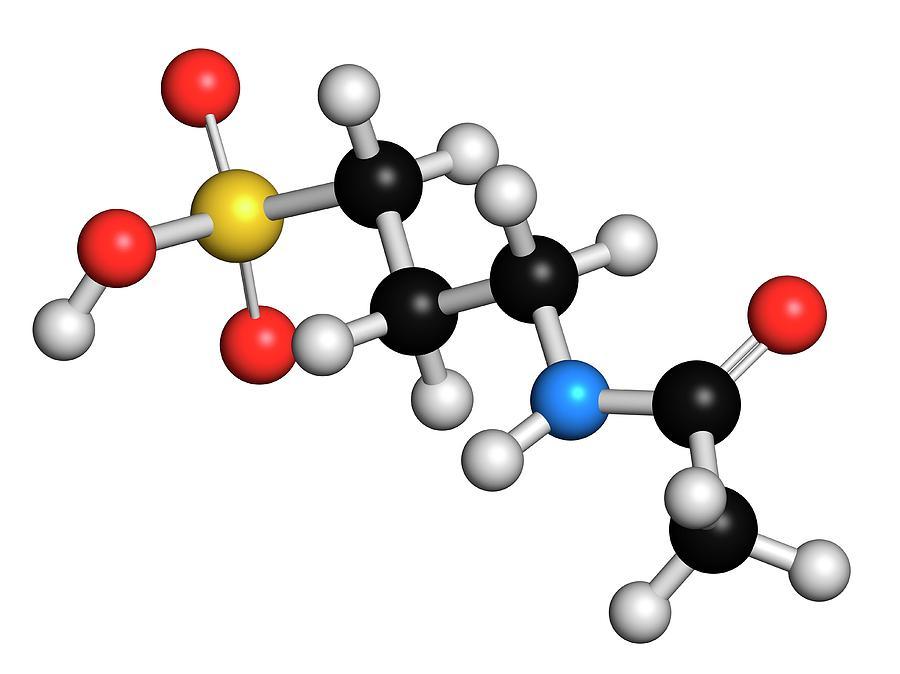 Alcohol Photograph - Acamprosate Alcoholism Treatment Drug by Molekuul