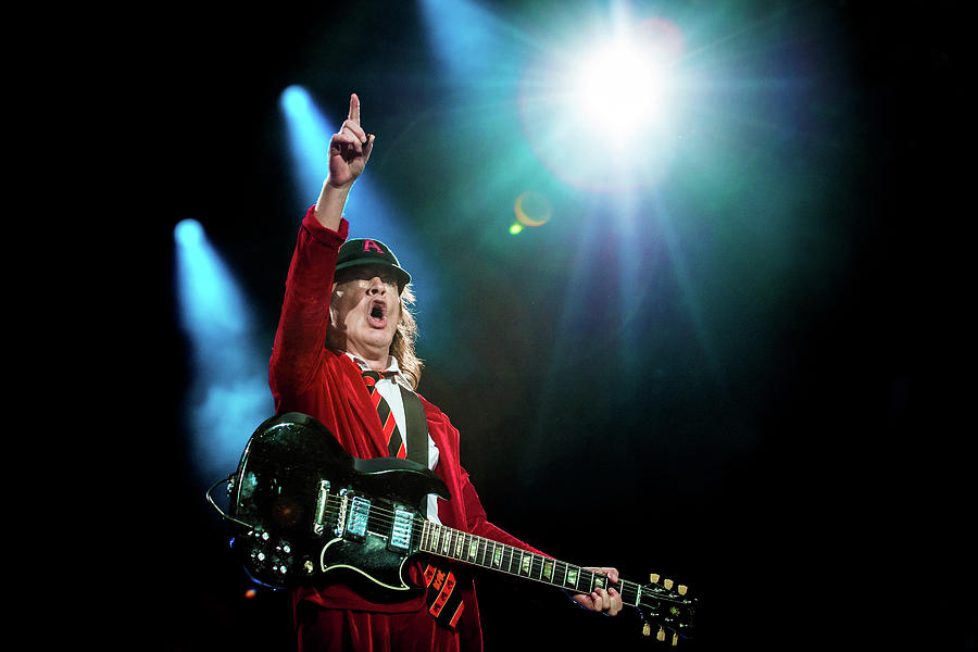 Acdc And Vintage Trouble Perform At Photograph by Neil Lupin