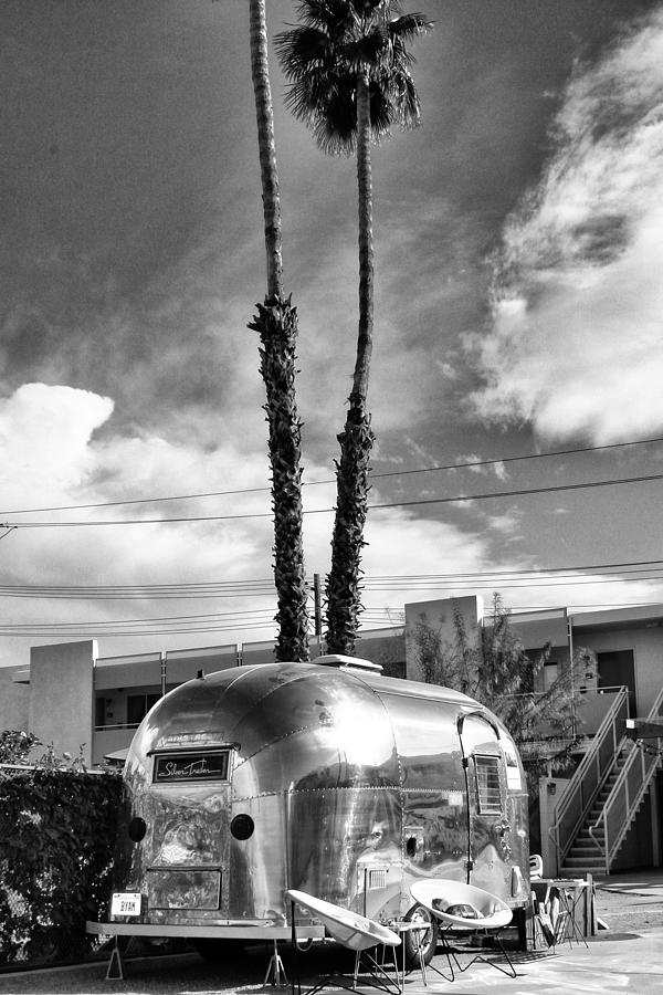 Airstream Photograph - Ace Trailer Palm Springs by William Dey
