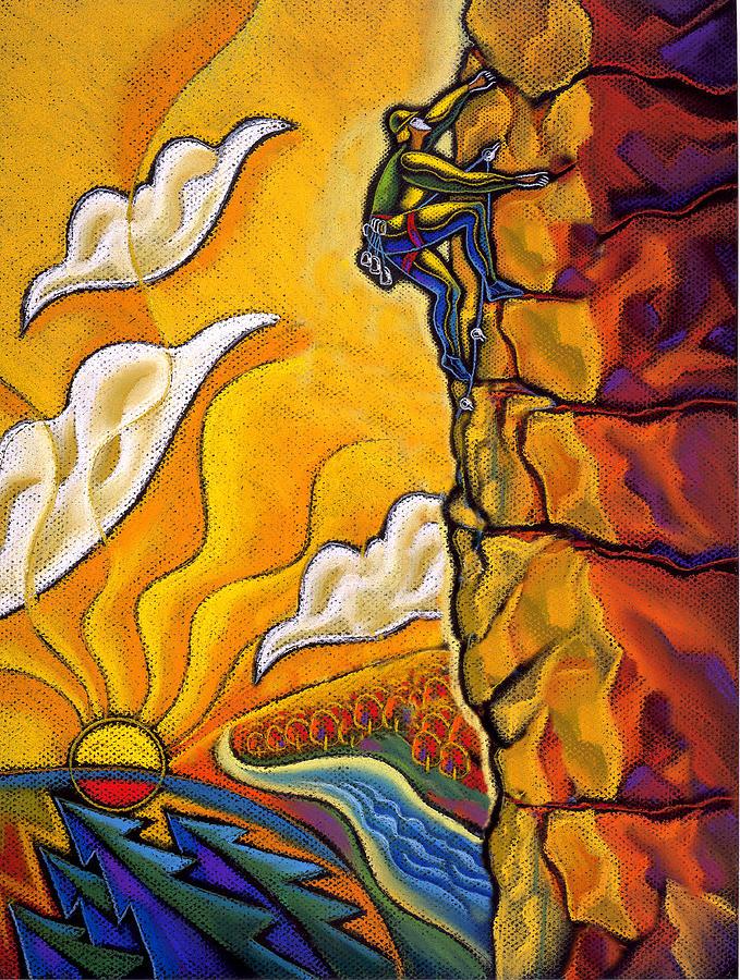 Achievement Painting by Leon Zernitsky