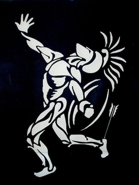 Achilles Sculpture - Achilles by Gary Wind