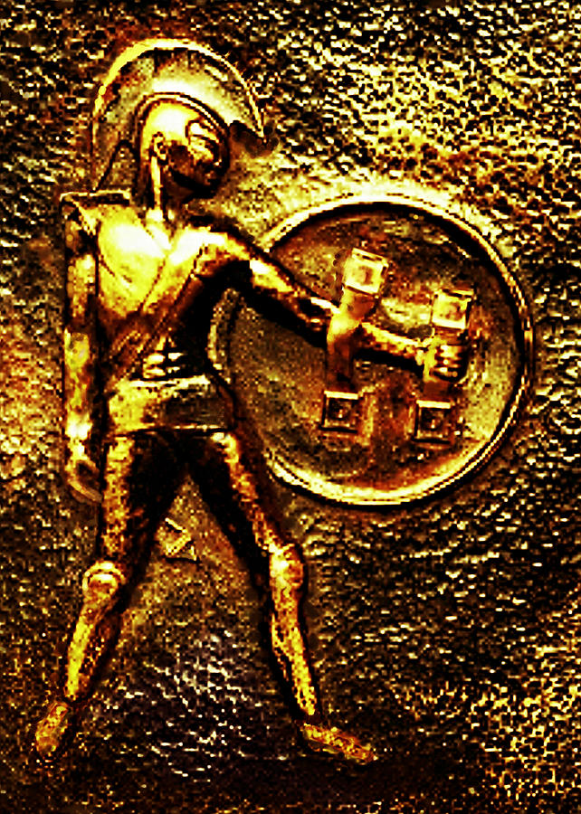 Achilles Sculpture - Achilles by Hartmut Jager
