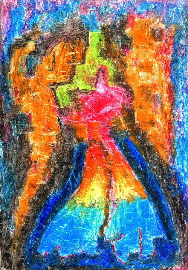 Achtung Pastel by Yuri Lushnichenko