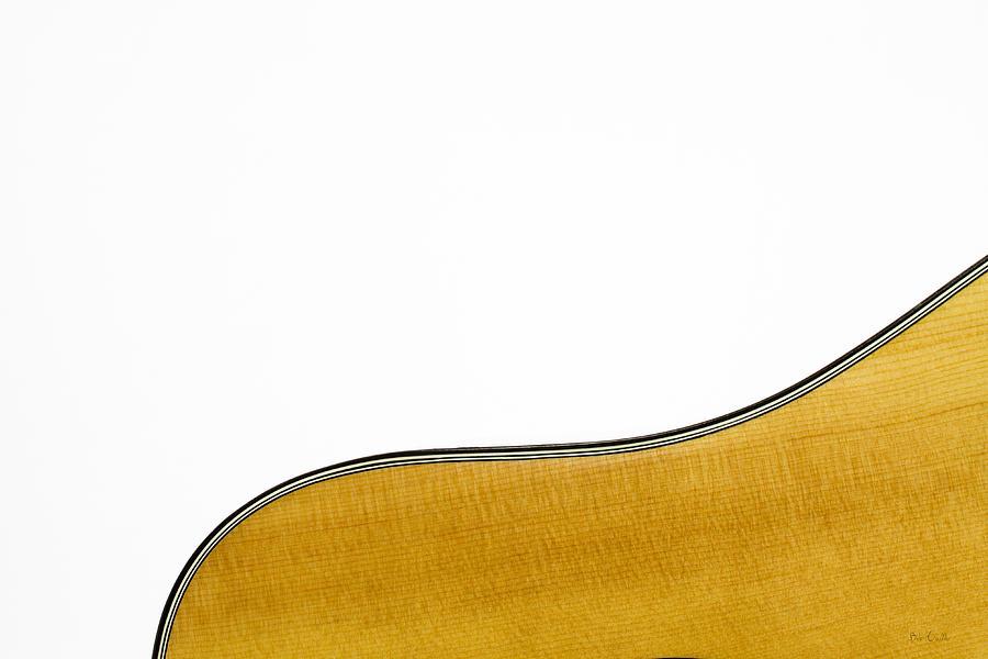 Guitar Photograph - Acoustic Curve by Bob Orsillo