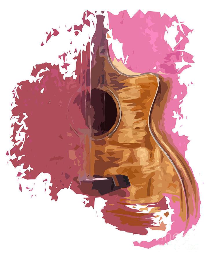 Acoustic Guitar 1 Digital Art