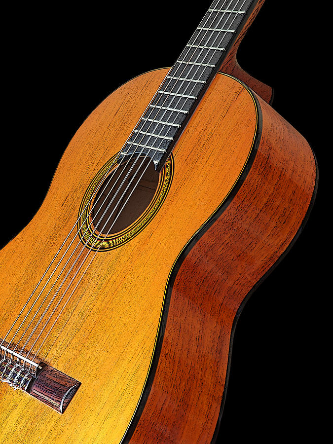 Acoustic Guitar by Gill Billington