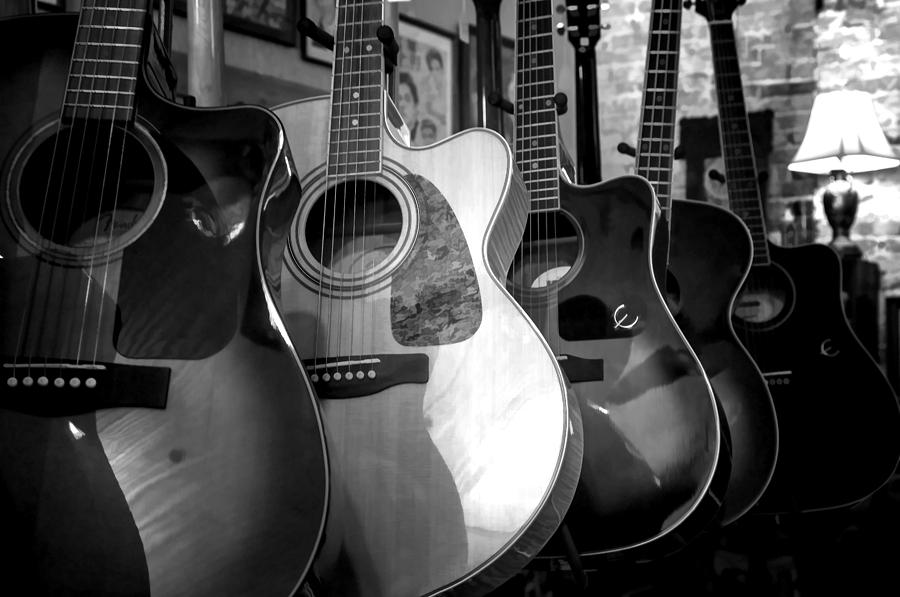 acoustic guitars photograph by lynn palmer. Black Bedroom Furniture Sets. Home Design Ideas