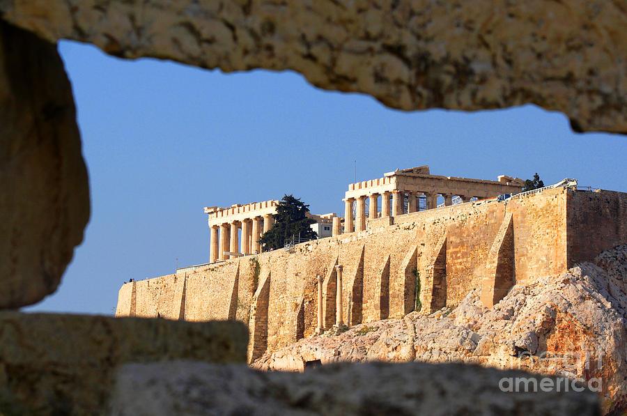 Acropolis Photograph - Acropolis by Holger Ostwald