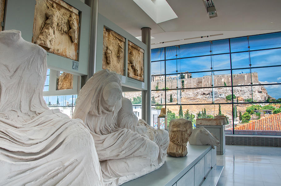 Acropolis Photograph - Acropolis Museum by Stavros Argyropoulos