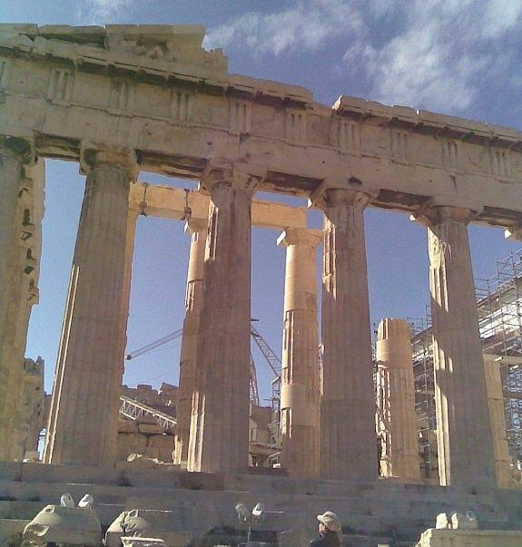 Acropolis Of Athens Photograph - Acropolis-parthenon by Katerina Kostaki
