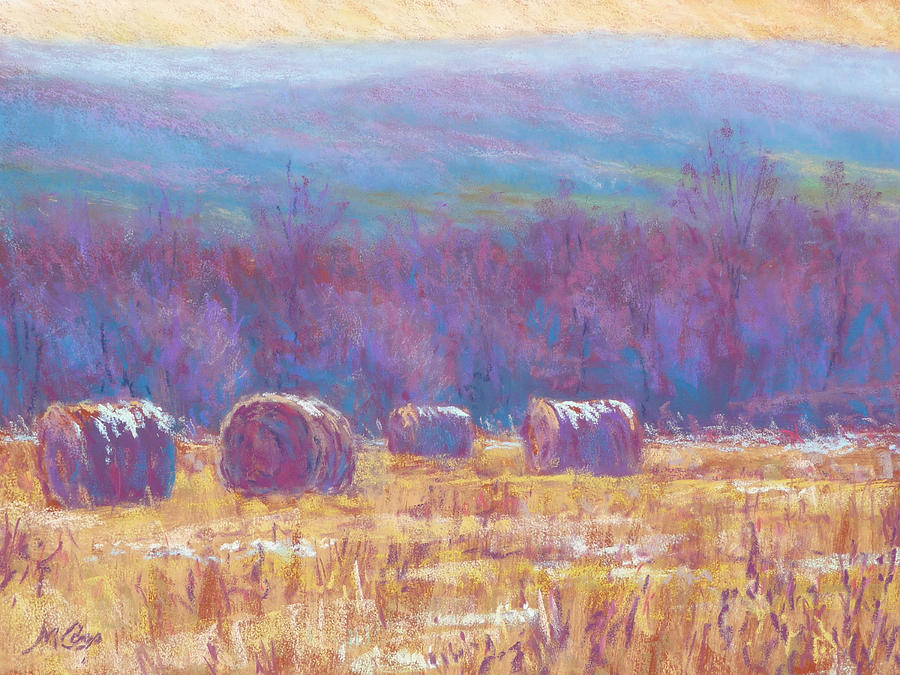 Impressionist Painting - Across Dunn Valley by Michael Camp