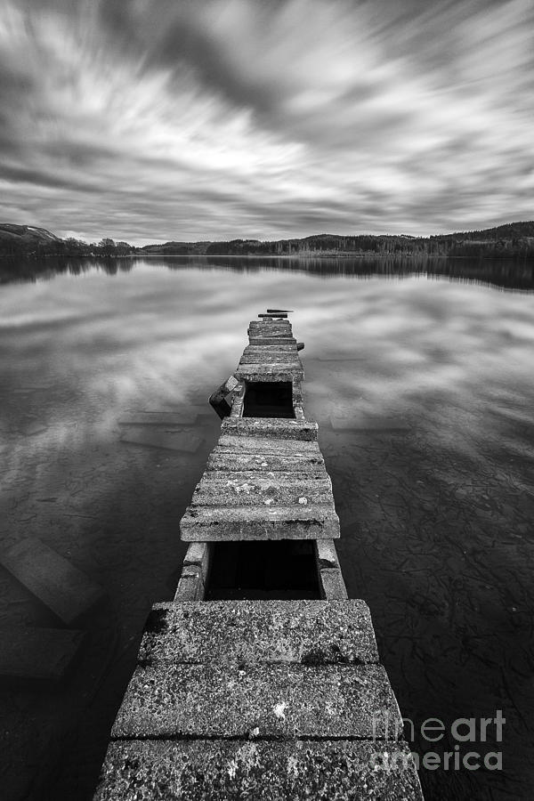Boat Jetty Photograph - Across by John Farnan