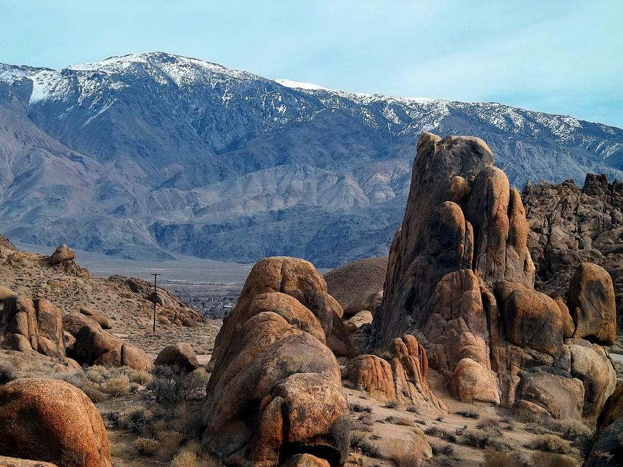 Inyo Mountains Photograph - Across Owens Valley - U.s. Highway 395 by Glenn McCarthy Art and Photography