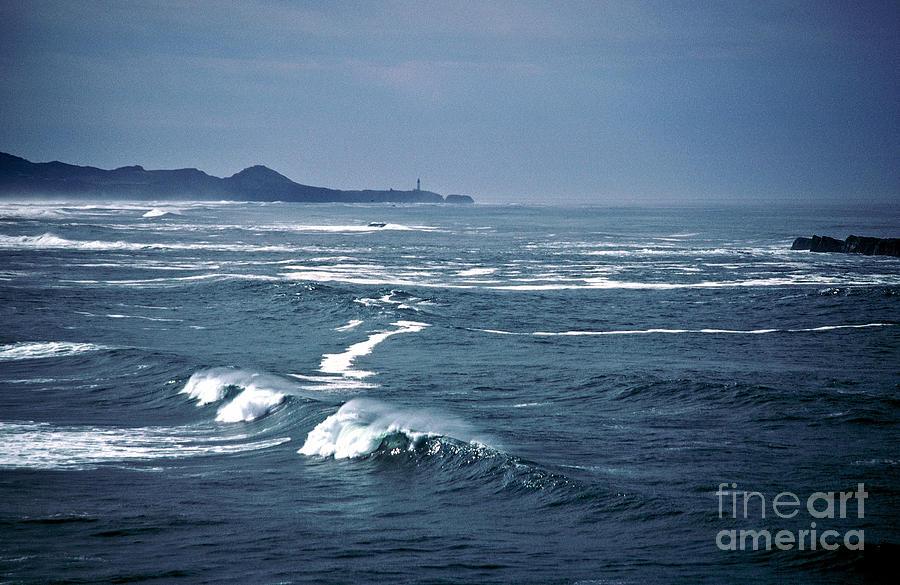 Seascape Photograph - Across The Bay by Earl Johnson