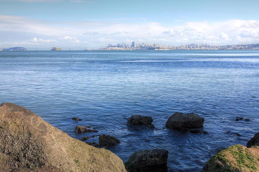 Bonita Point Photograph - Across The Bay by JC Findley