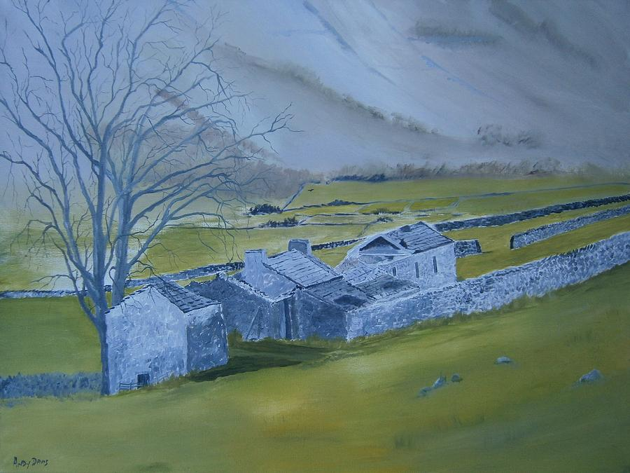 Landscape Painting - Across The Dales by Andy Davis