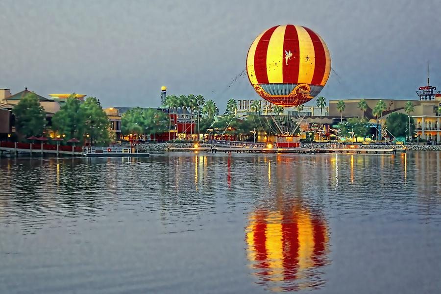 Disney Photograph - Across The Water by Jenny Hudson