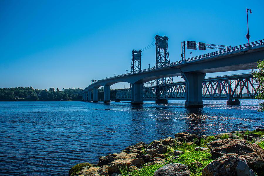 Bridge Photograph - Across The Way by Jason Brow