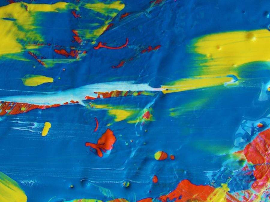 Original Painting - Acrylic Seas by Artist Ai