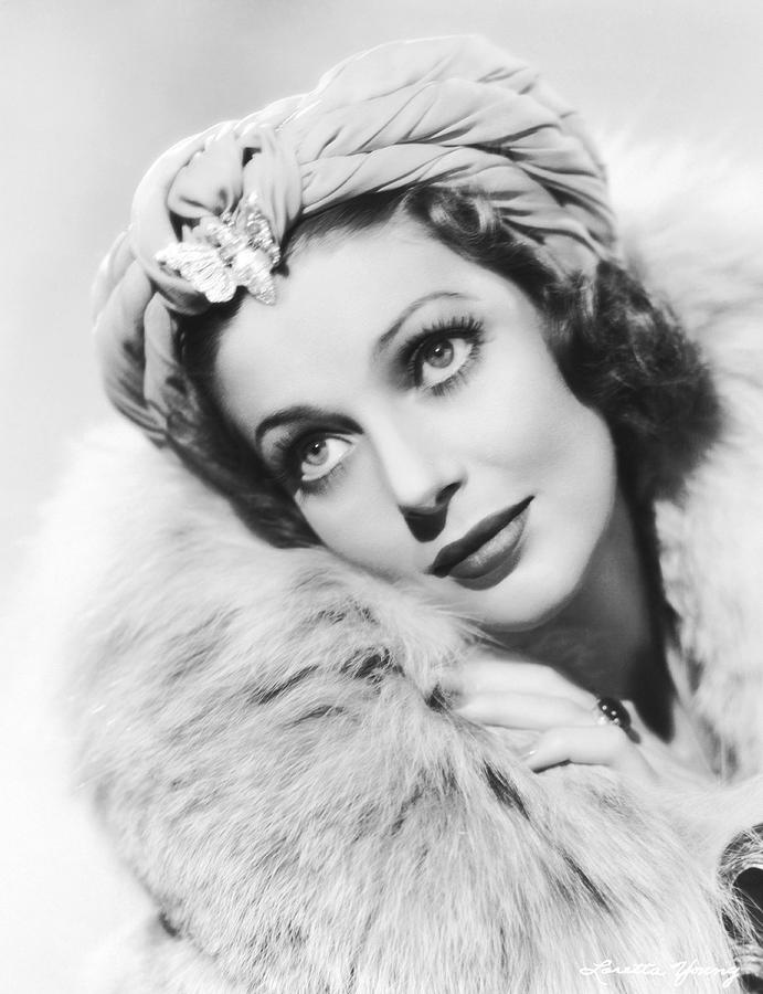 1930s Photograph - Actress Loretta Young by Underwood Archives