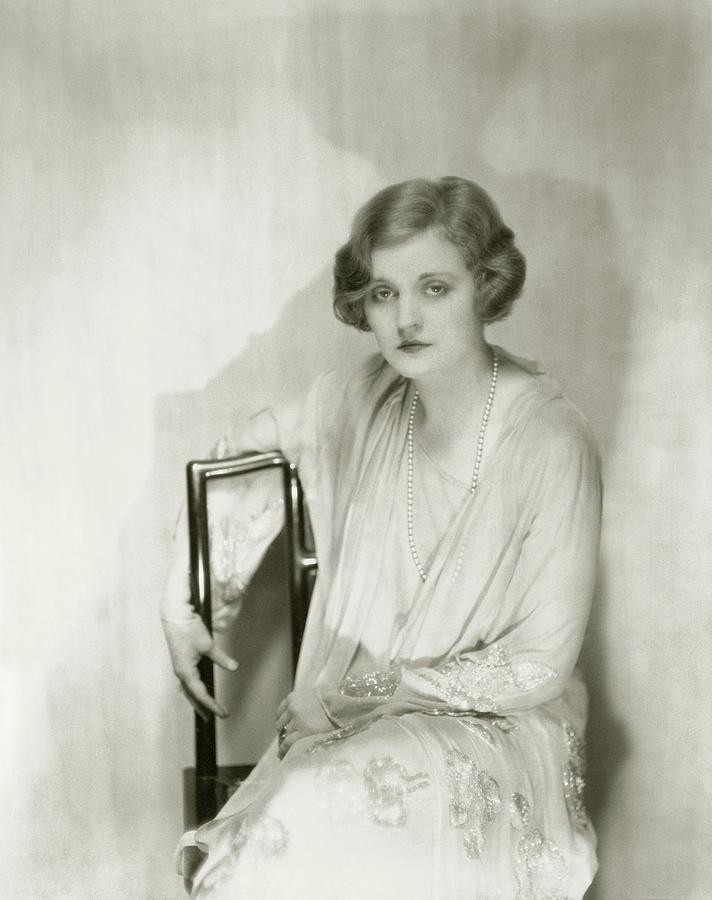 Actress Tallulah Bankhead Photograph by Nickolas Muray